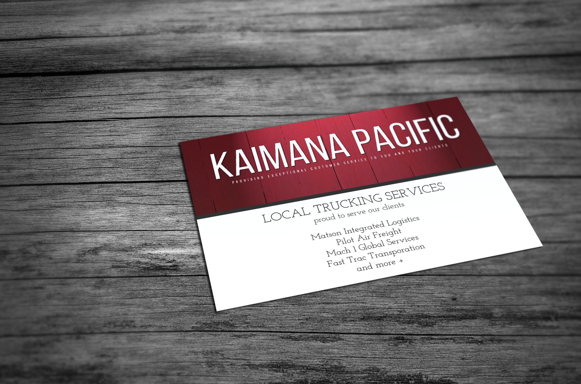 Kaimana Pacific, Inc.