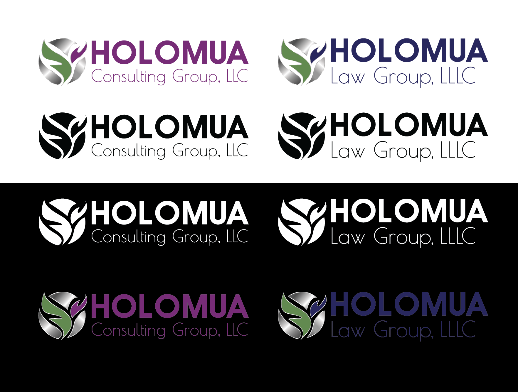 Holomua Consulting and Law Group logos