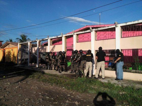 Photo caption: The Venado Operation in the Aguan, El Tiempo
