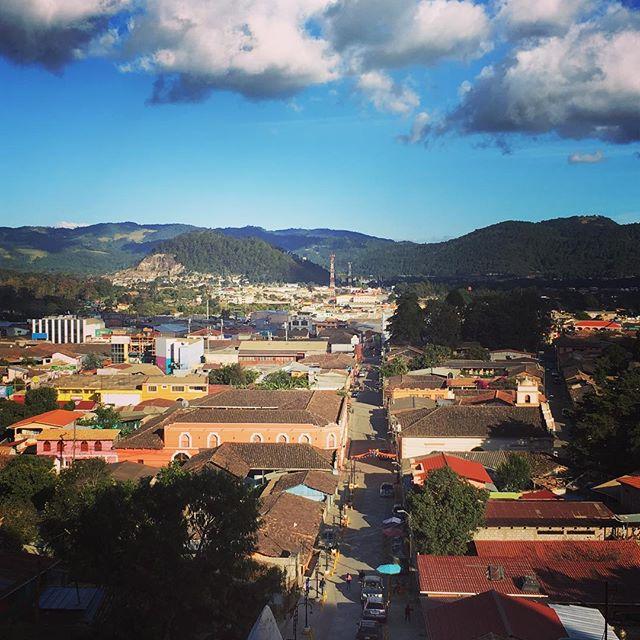 From La Gruta, Berta's home. La Esperanza, Honduras