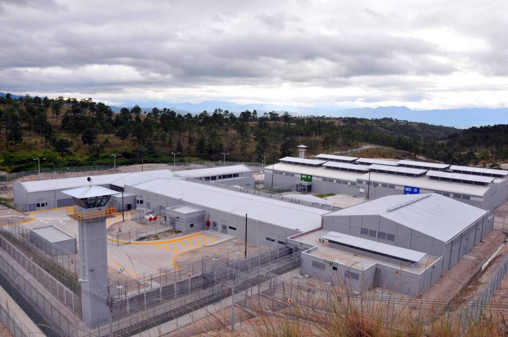 One of the two US-style maximum-security prison in Honduras