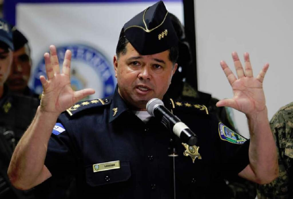 Ramon Sabillon. Police Chief for almost a year until November 2014.