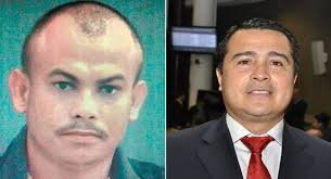 "Left: Devis Leonel Maradiaga Rivera (one of Los Cachiros) and right: Juan Antonio ""Tony"" Hernandez"