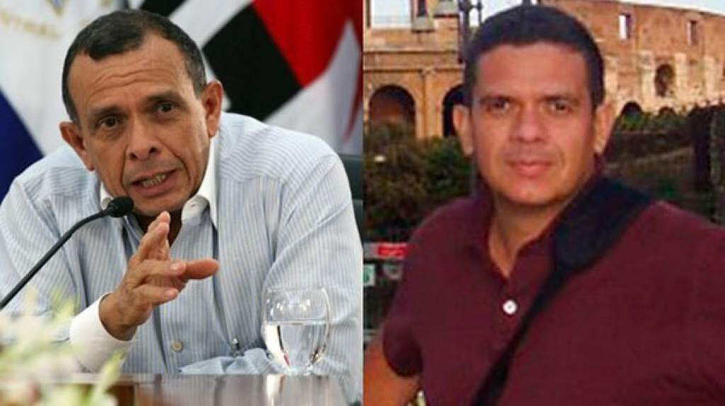 "Left: Ex-President Porfirio ""Pepe"" Lobo. Right: His son, Fabio Lobo who is in jail in the US sentenced to 24 years"