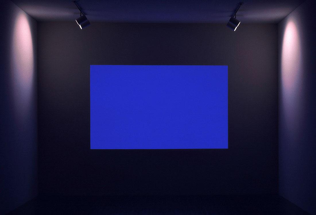 Dana' , 1983 Fluorescent light | Space Divisions/Dana' series