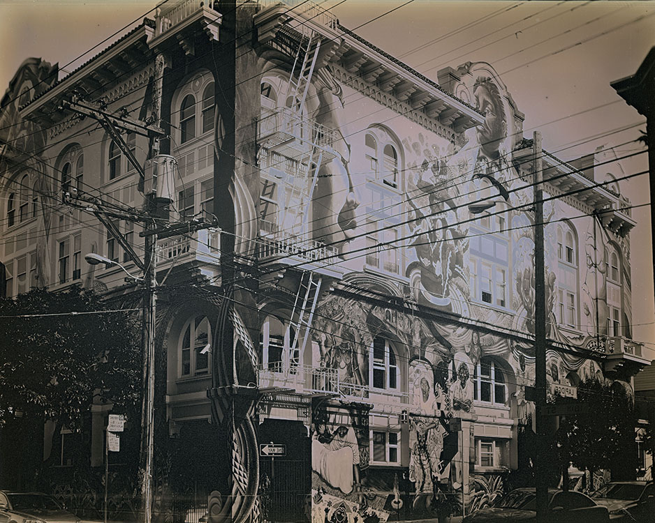 The Women's Building, 18th Street , 2014 Daguerreotype, Unique (in camera exposure) | Plate: 8 x 10 inches | HG12669