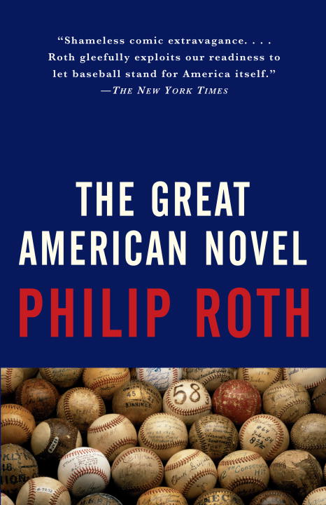 2.  The Great American Novel     Philip Roth, $18.00, TP, Knopf Doubleday Publishing Group (April 11, 1995) 9780679749066