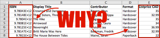 Why do you hate me Excel?