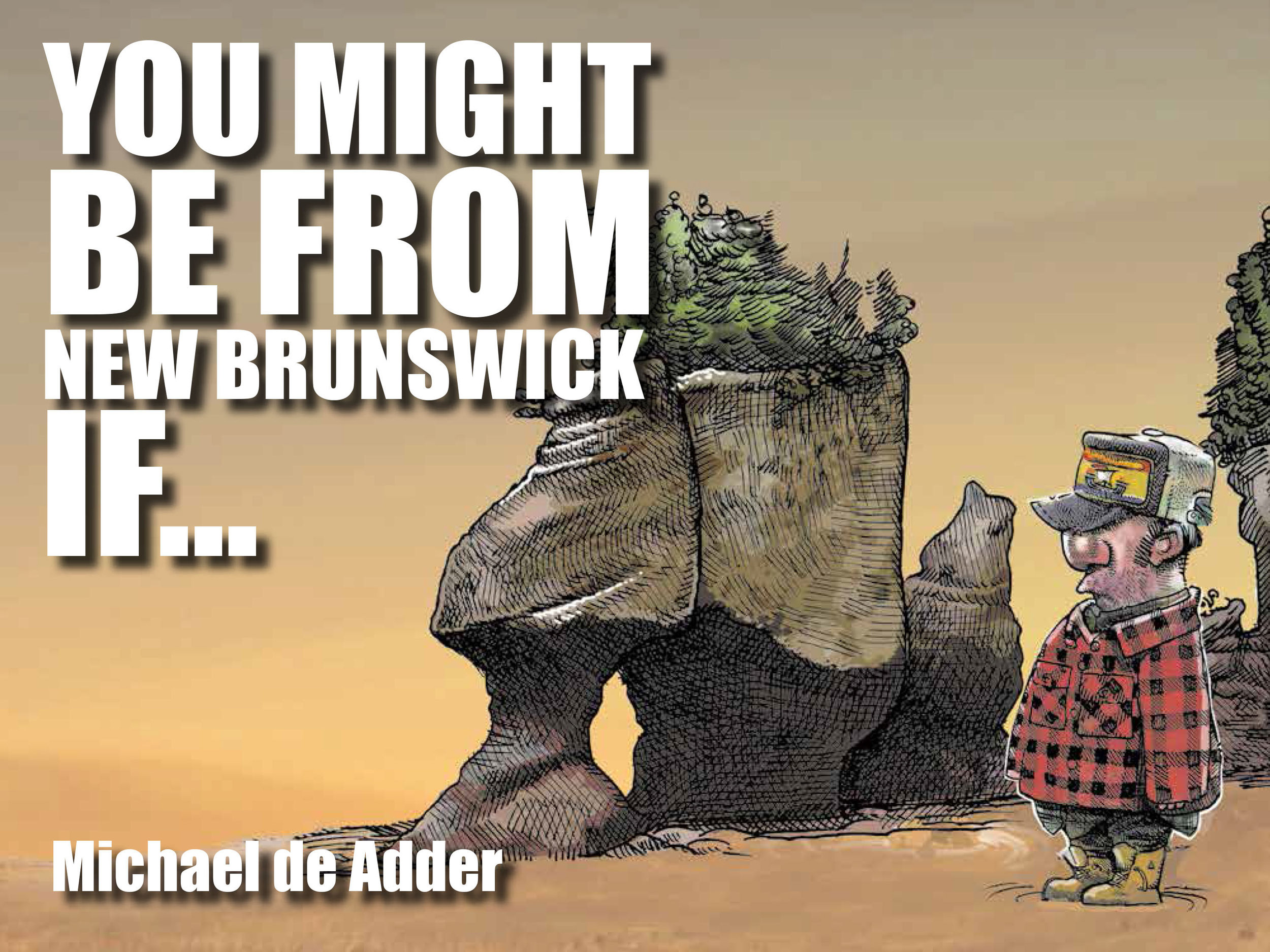 You Might Be from New Brunswick If... by Michael de Adder