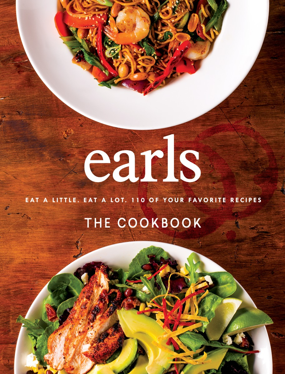 Earls the Cookbook by Jim Sutherland