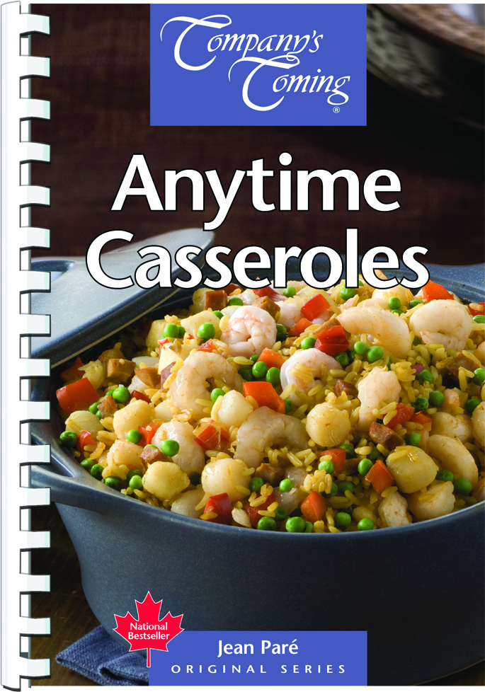 Anytime Casseroles by Jean Paré