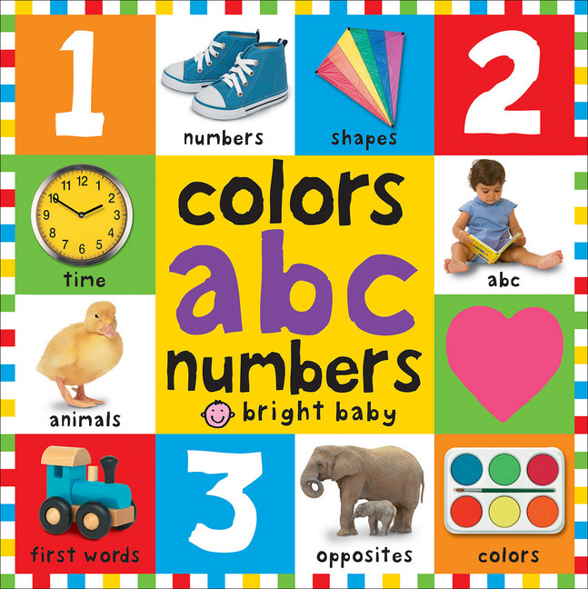Big Board Books Colors, ABC, Numbers by Roger Priddy