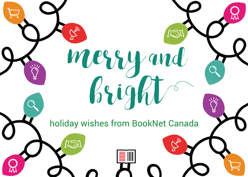 Merry and bright holiday wishes from BookNet Canada.
