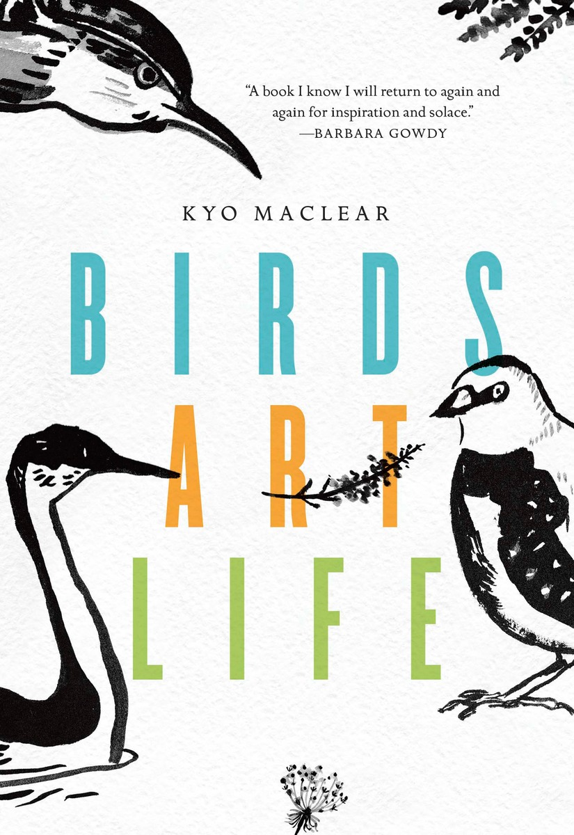 Birds, Art, Life   by Kyo Maclear cover image.