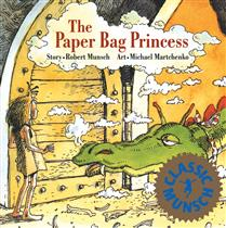 Book cover image for The Paper Bag Princess by Robert Munsch