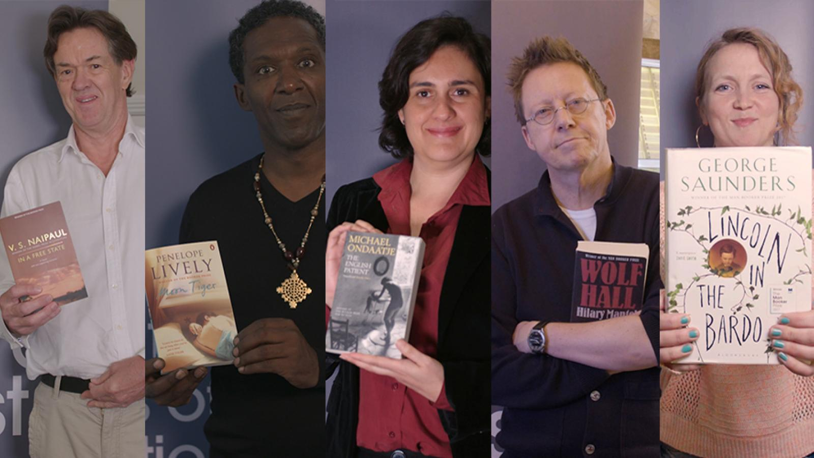 The Golden Man Booker judges and their choices: Golden Man Booker Prize site