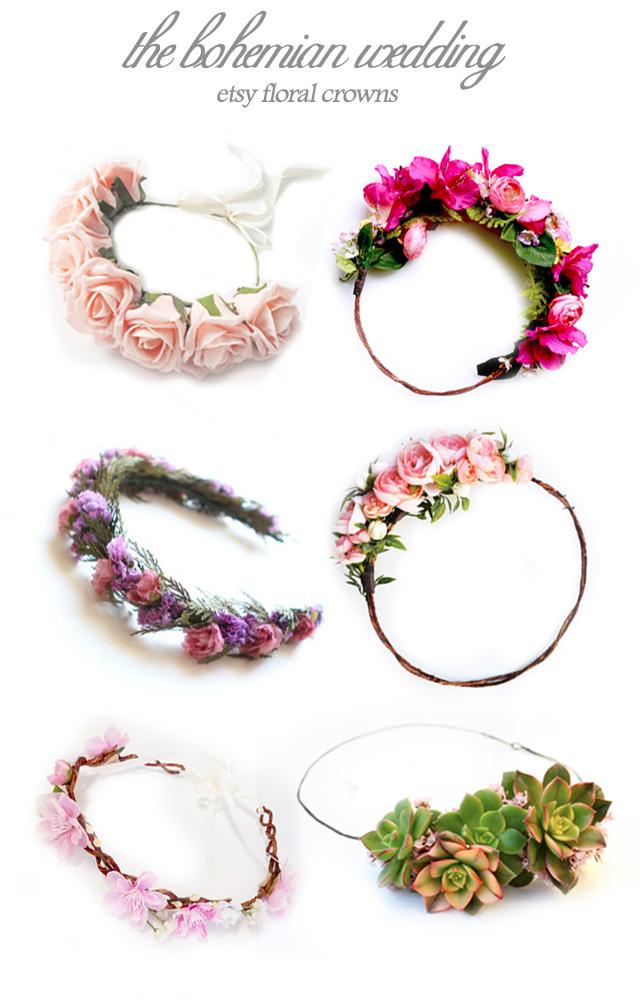 Etsy Flower Crown
