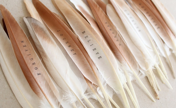 Feathers with Favors
