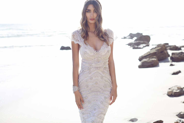Anna Campbell Spirit Collection Wedding Dress 6