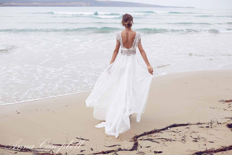 Anna Campbell Spirit Collection Wedding Dress 8