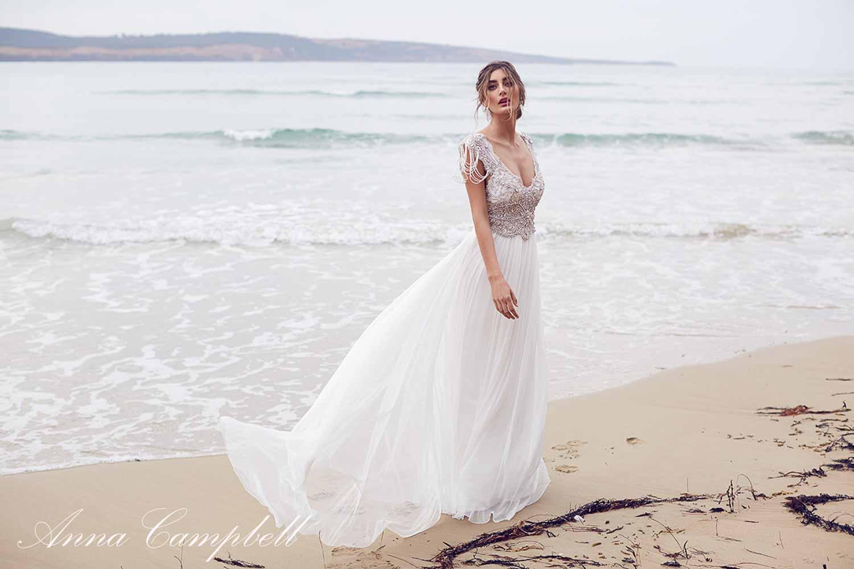 Anna Campbell Spirit Collection Wedding Dress 9