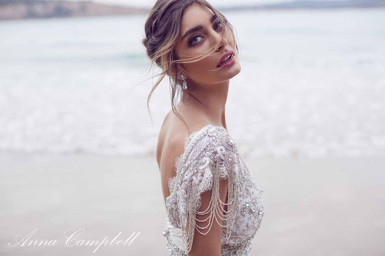 Anna Campbell Spirit Collection Wedding Dress 10