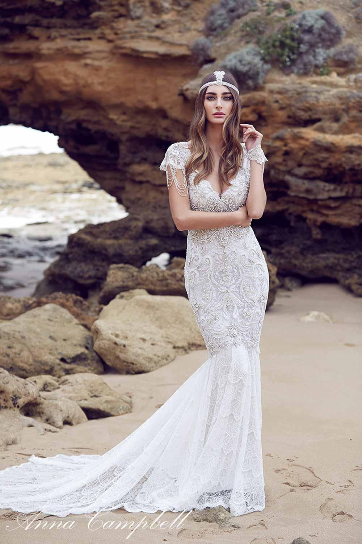 Anna Campbell Spirit Collection Wedding Dress 13