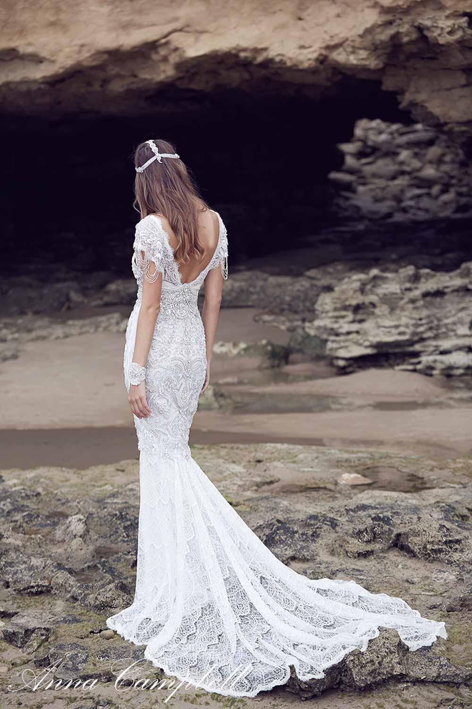 Anna Campbell Spirit Collection Wedding Dress 15