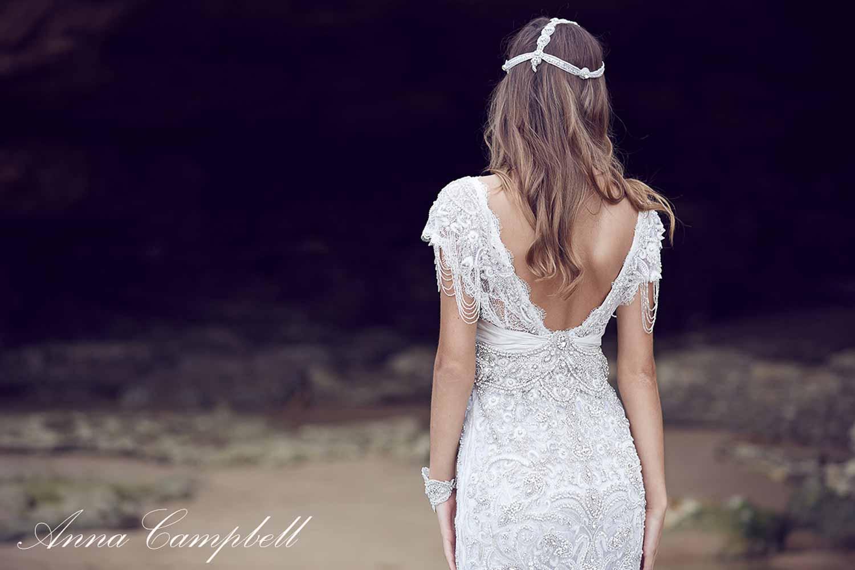 Anna Campbell Spirit Collection Wedding Dress 16