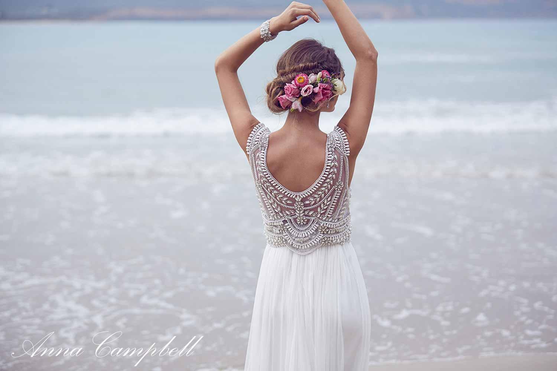 Anna Campbell Spirit Collection Wedding Dress 18