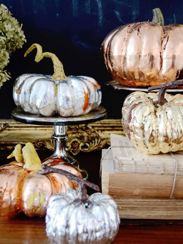 Foil Pumpkins