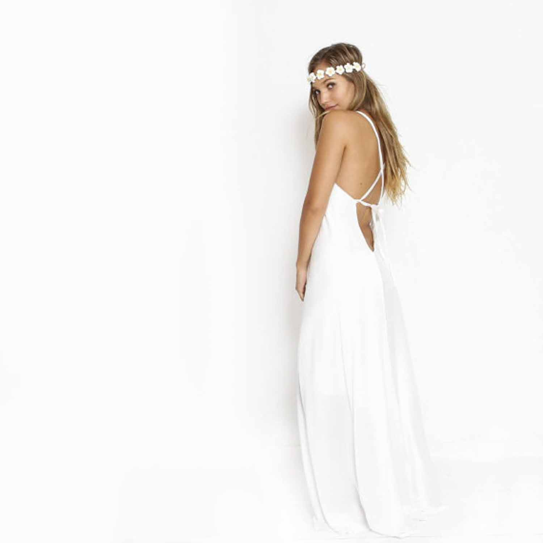 Etsy boho wedding dress