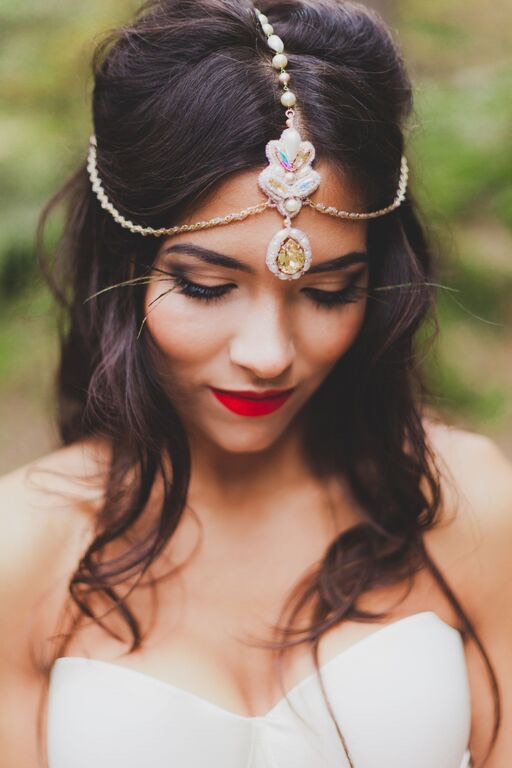 Boho Wedding in the Alps closeup of bride.jpg