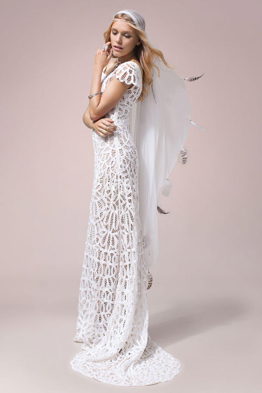 Rue De Seine Violet Gown