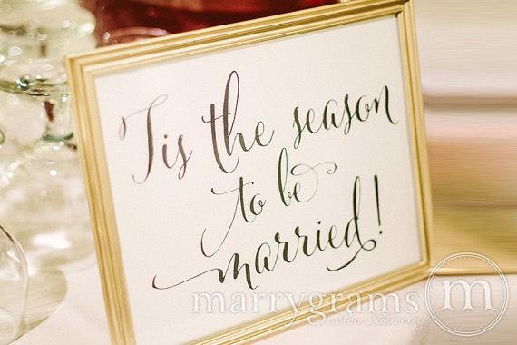 Tis the season sign
