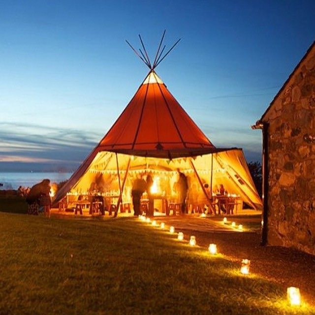 Tee Pee with Lights