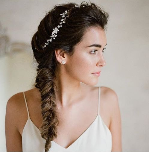 Soft Fishtail Bridal Braid