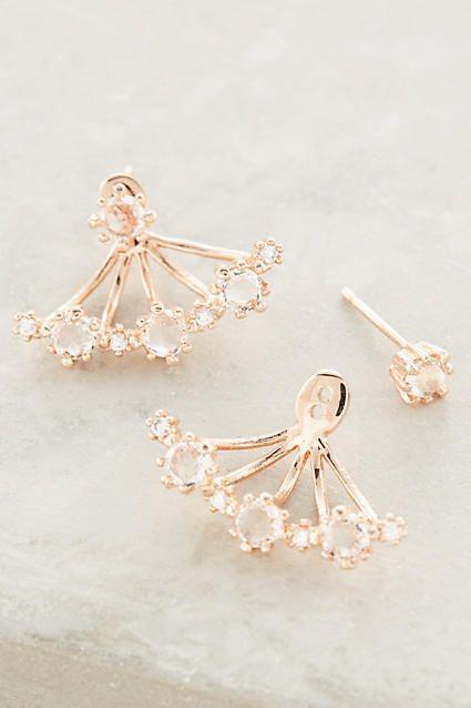 Rose Gold Bloom Earings
