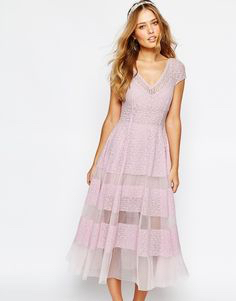Lavender Pastel Dress