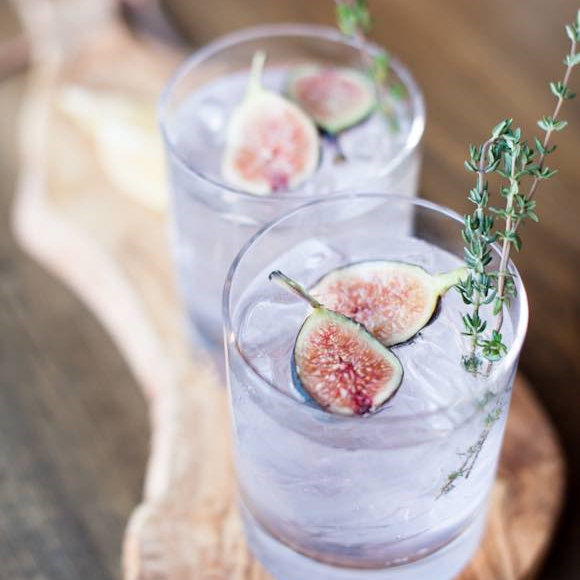 Cocktails with Figs