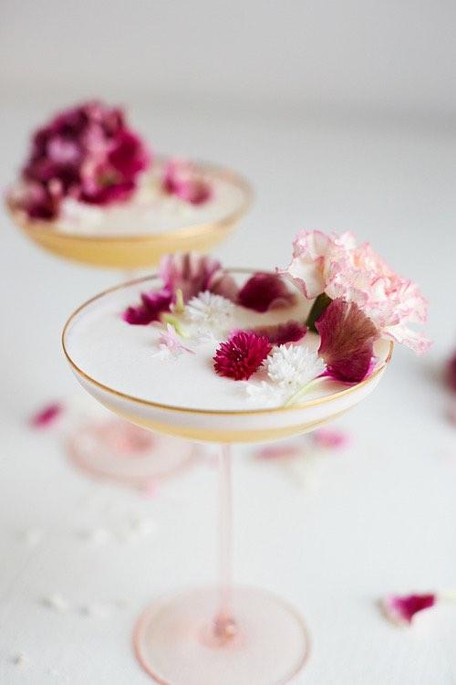Flower Cocktails
