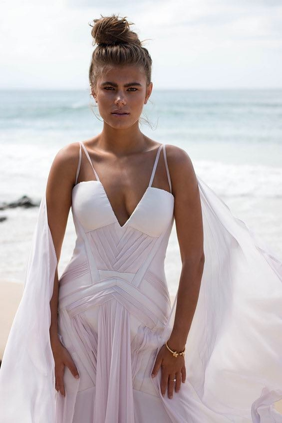 Georgia Young Couture Strappy Dress Front