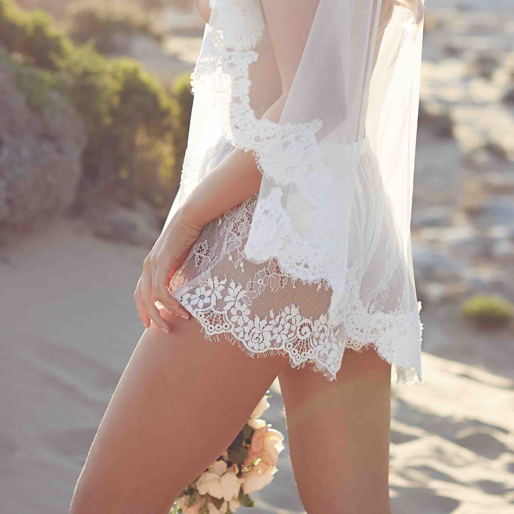 Lost in Love Photography - Lace Shorts