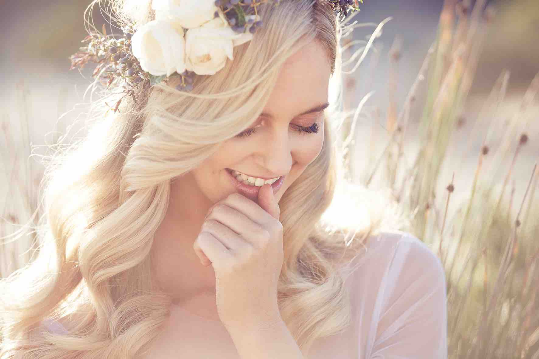 Lost in Love Photography Bride Smiling