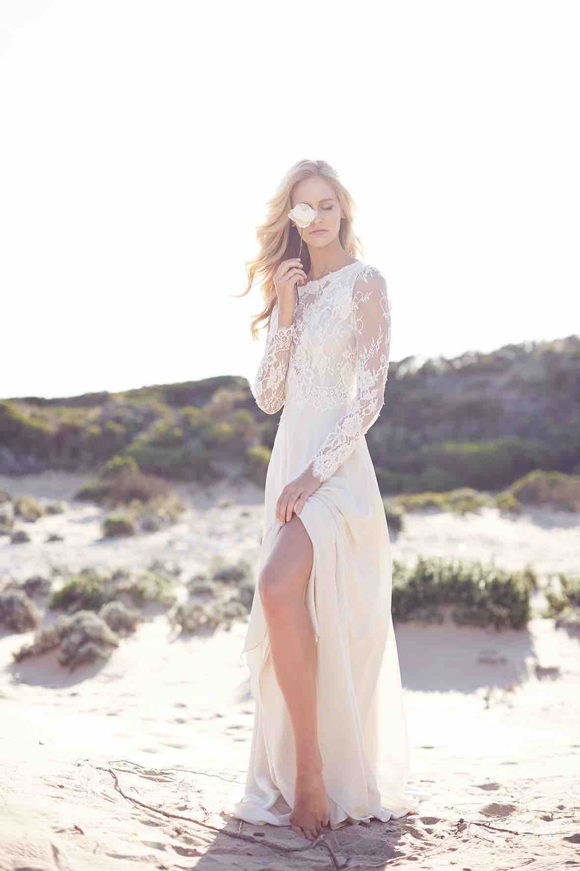 Lost in Love Photography - Wedding Dress with Side Slit