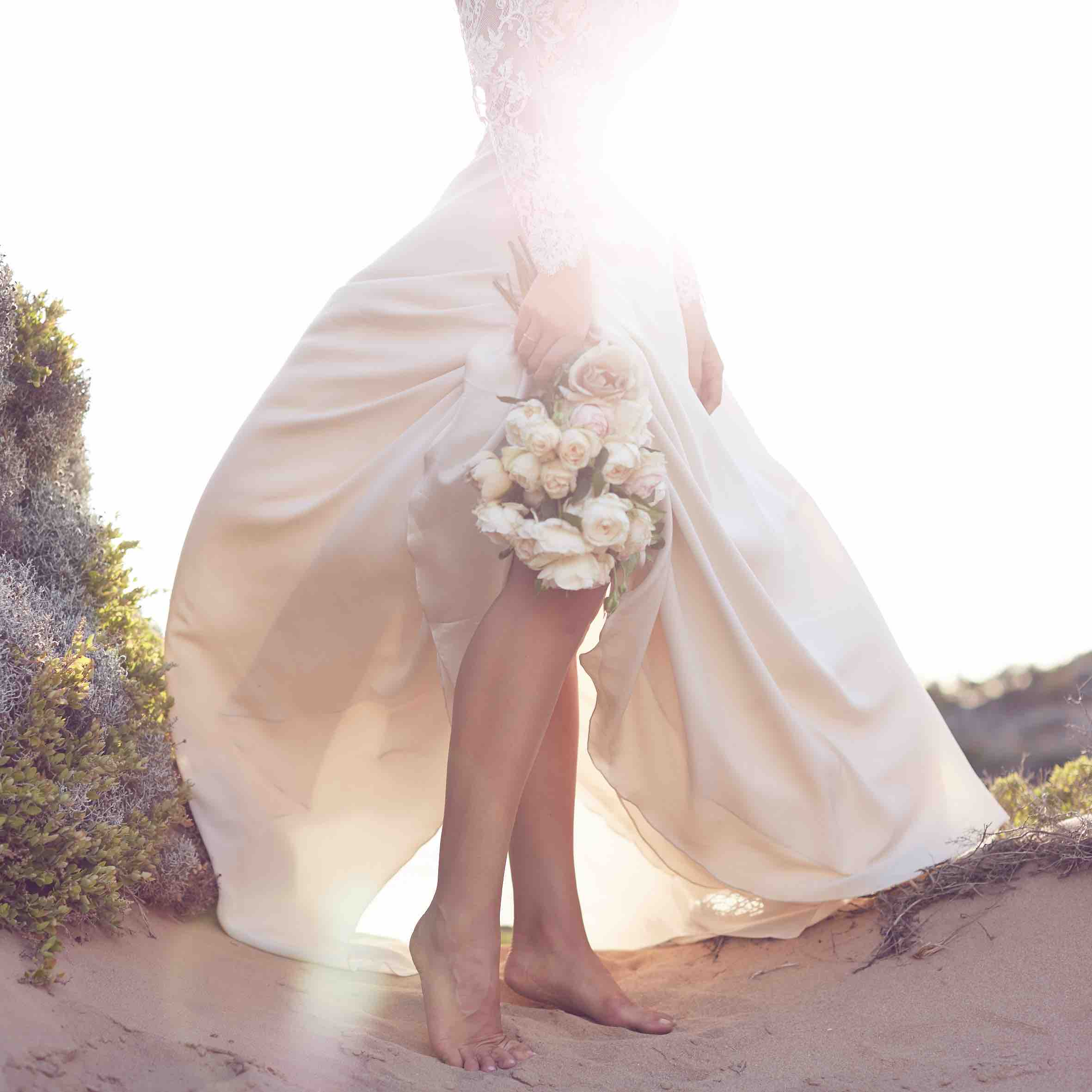 Lost in Love Photography - Wedding Dress Bottom Details