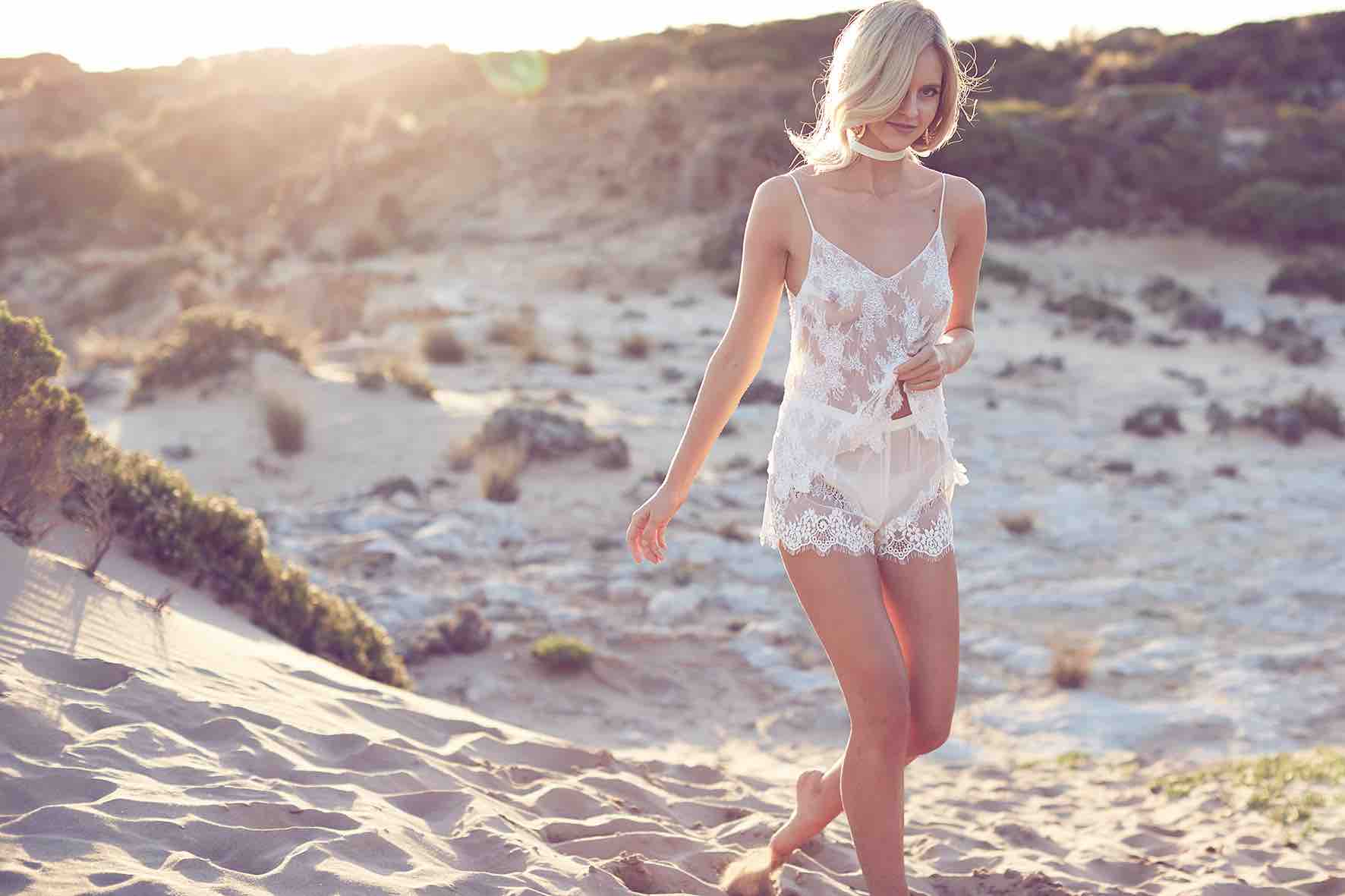Lost in Love Photography - Wedding Lingerie Romper
