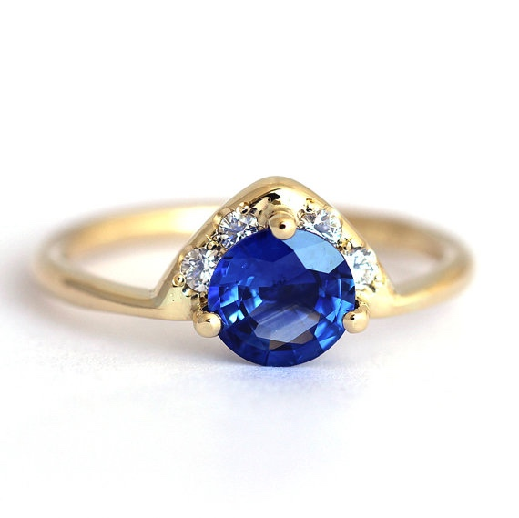 Artemer Blue Sapphire Ring