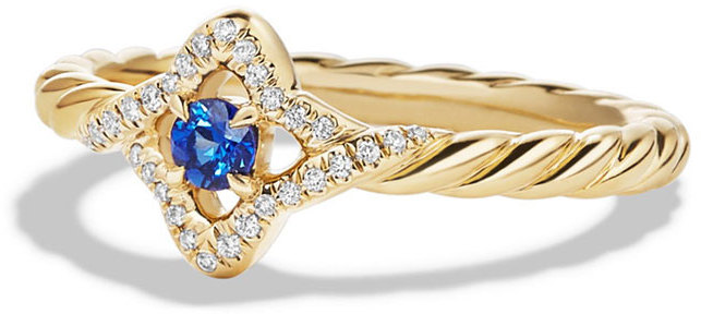 David Yurman Venetian Blue Sapphire Ring