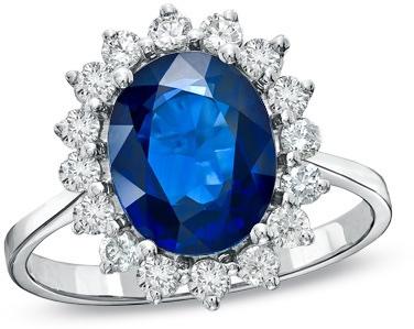 Precious Bride Sapphire Engagement Ring